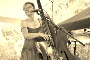 jazz double bass player